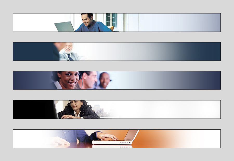 Five Web Banners