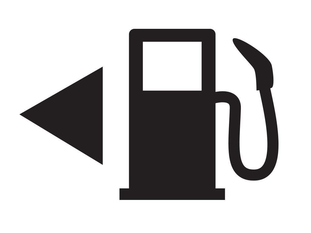 vector gas pump icon