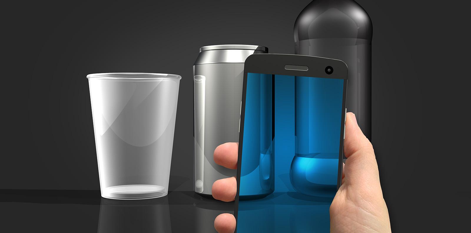 Smartphone object scanning