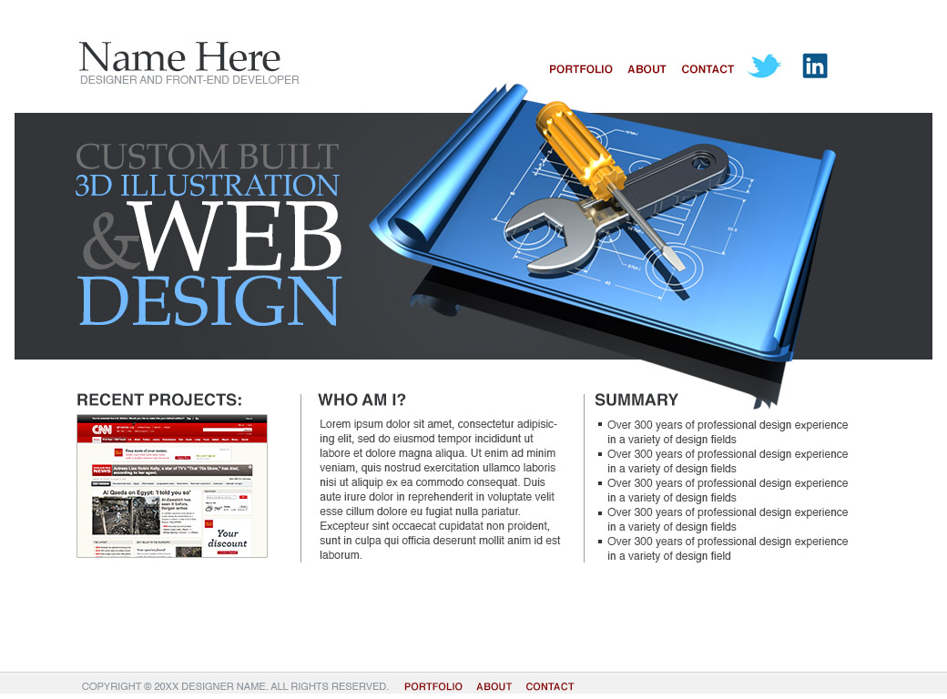 homepage screenshot
