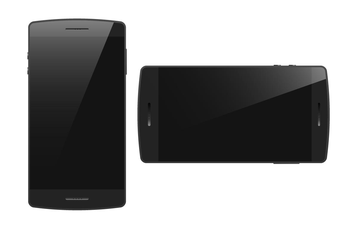 Generic Smartphone Image Blank Generic Smartphones