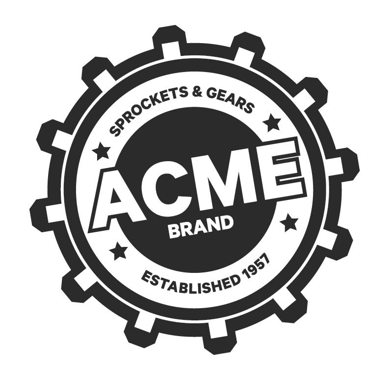 generic acme logo trashedgraphics