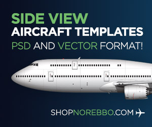 norebbo airliner templates