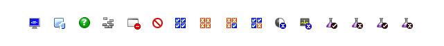 16x16 pixel icons