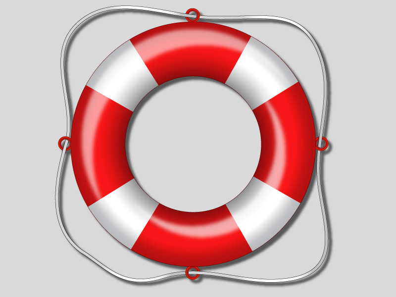 Lifesaver Illustration