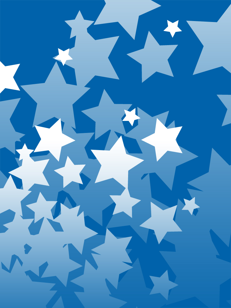 Simple Star Patten Background Image