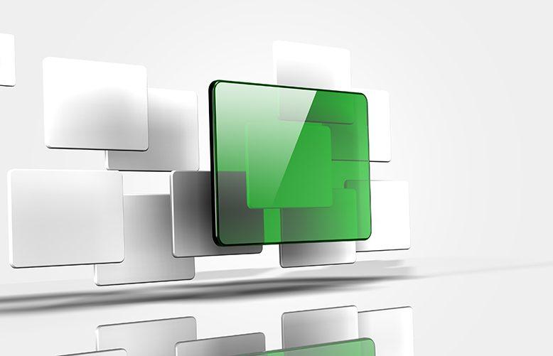 floating transparent panels