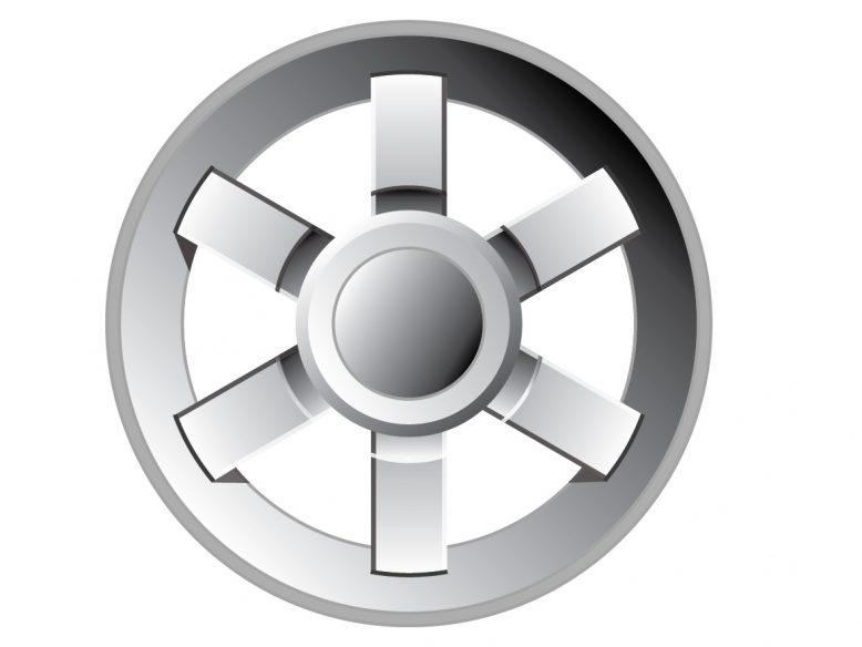 Vector wheel illustration