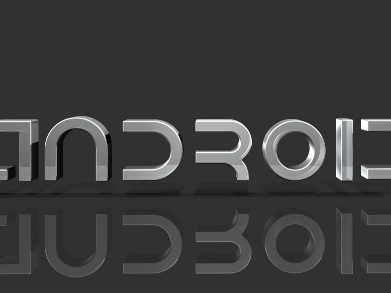 3d android logo
