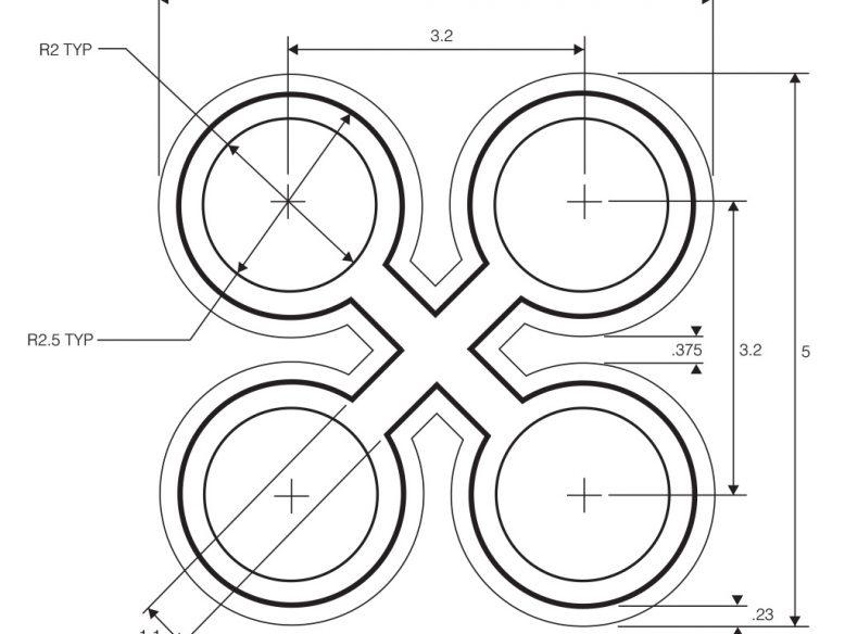 vector blueprint drawing
