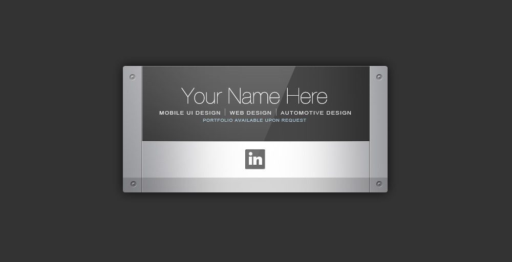 business card | TrashedGraphics