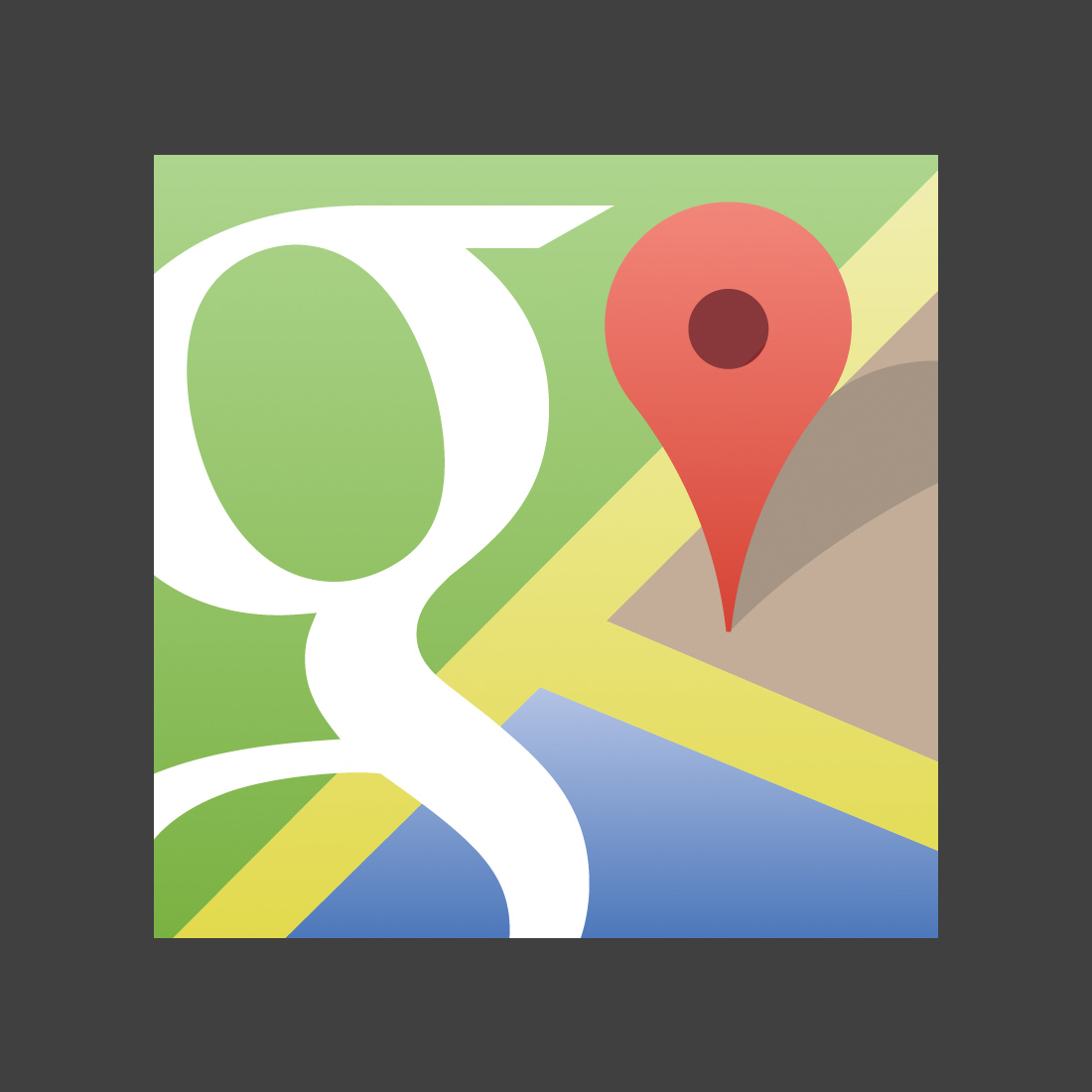 Vector Google Maps icon