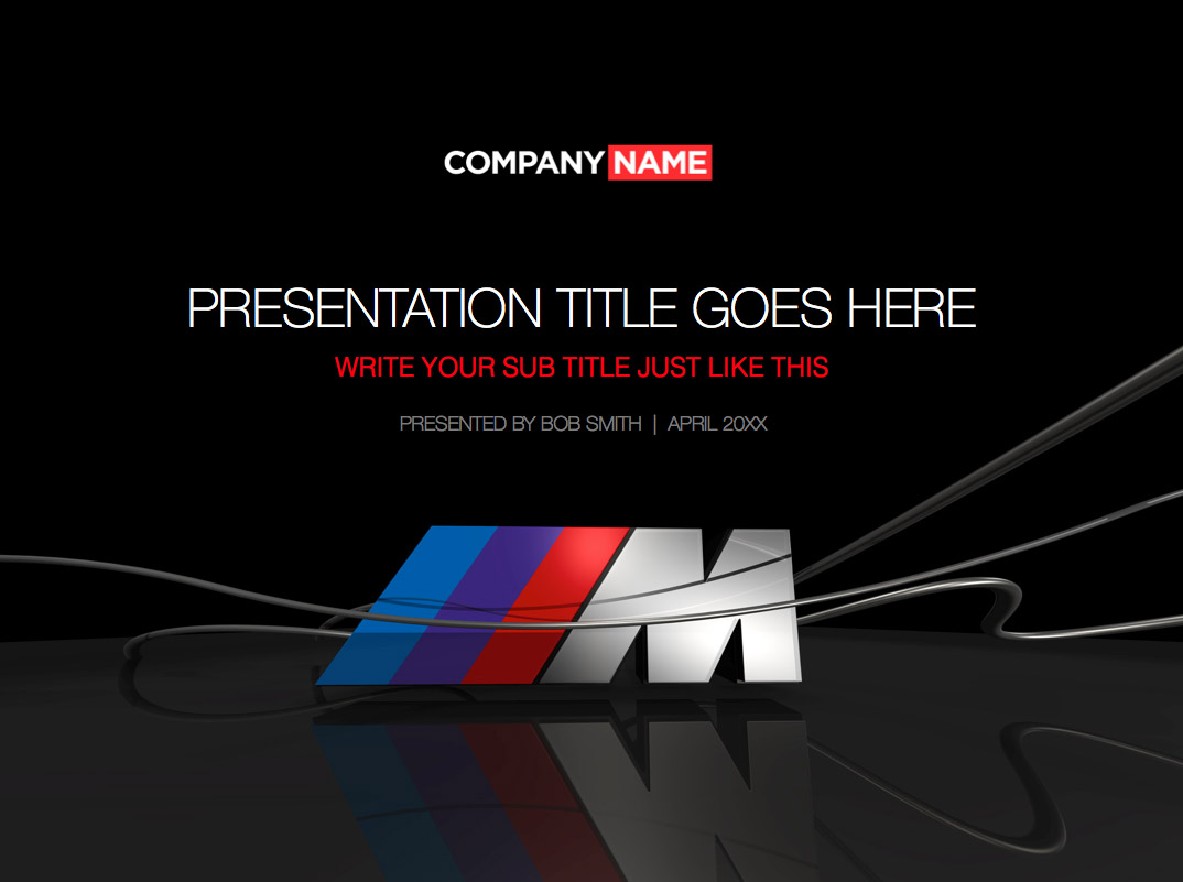PowerPoint BMW theme