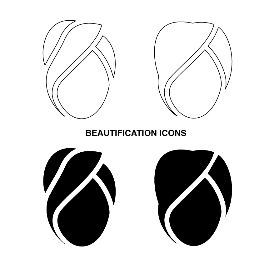 Vector beautify icons
