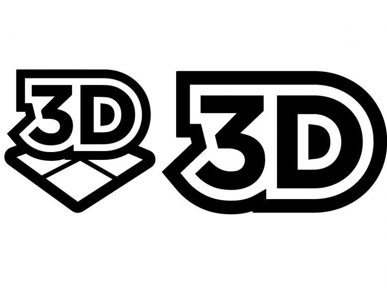 Vector 3D logo icon set