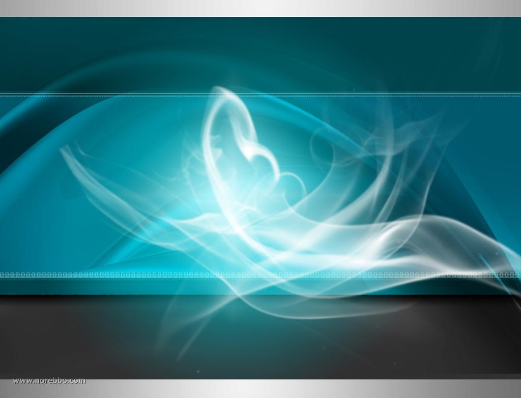 free teal smokey background image