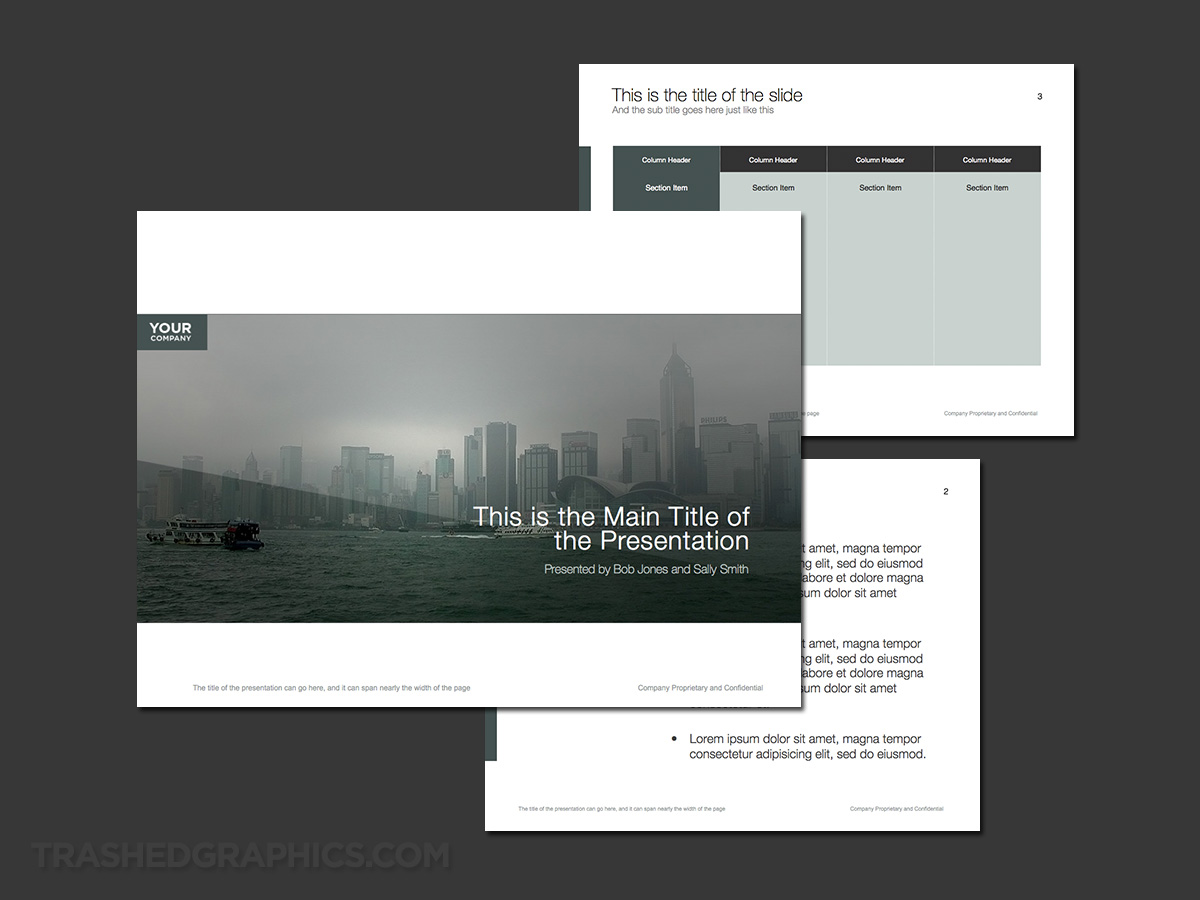 business in hong kong template