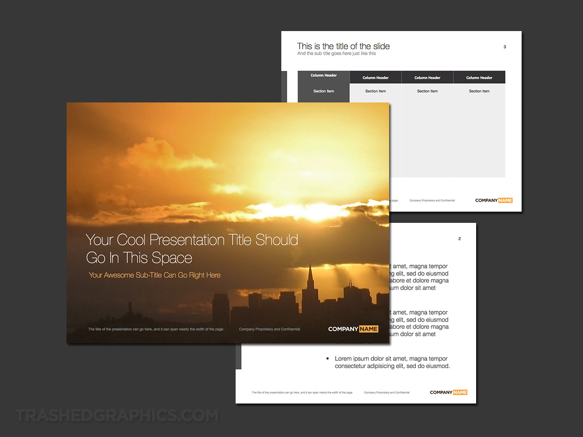Silicon Valley powerpoint template