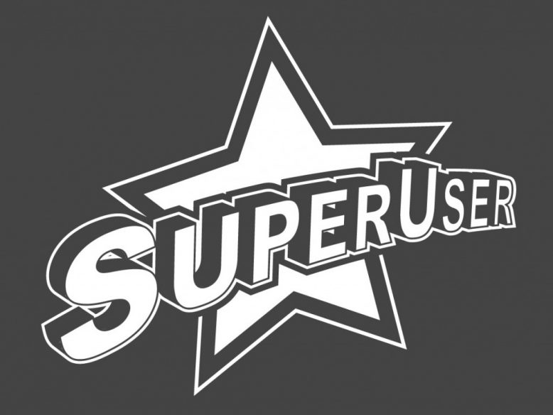 vector super user logo