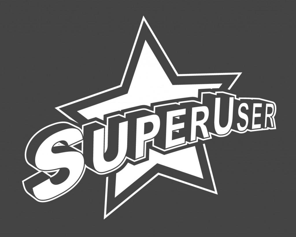 vector super user logo