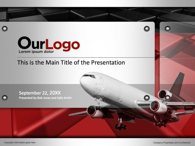 air cargo powerpoint templates