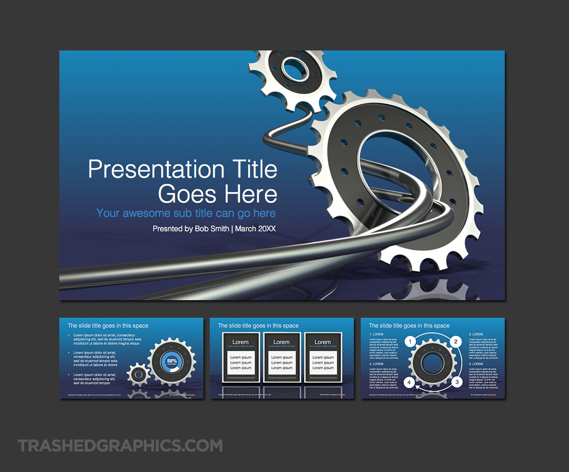 powerpoint template for engineers