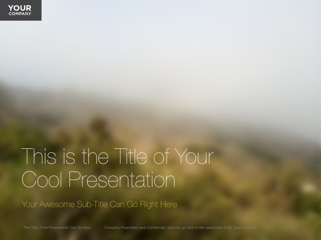 beautiful nature powerpoint templates