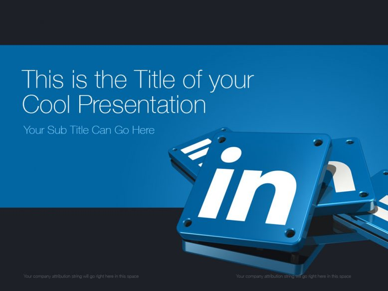 LinkedIn PowerPoint template design