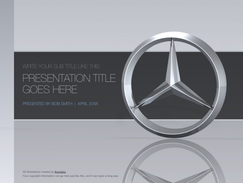 mercedes benz ppt