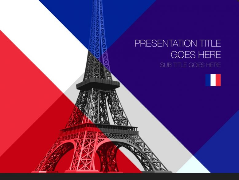 france powerpoint template