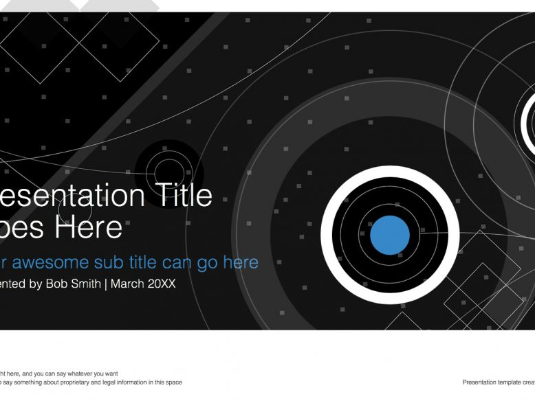 widescreen powerpoint template shapes