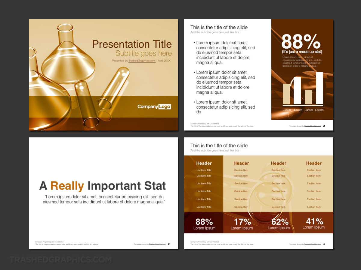 Colorful Science PowerPoint template