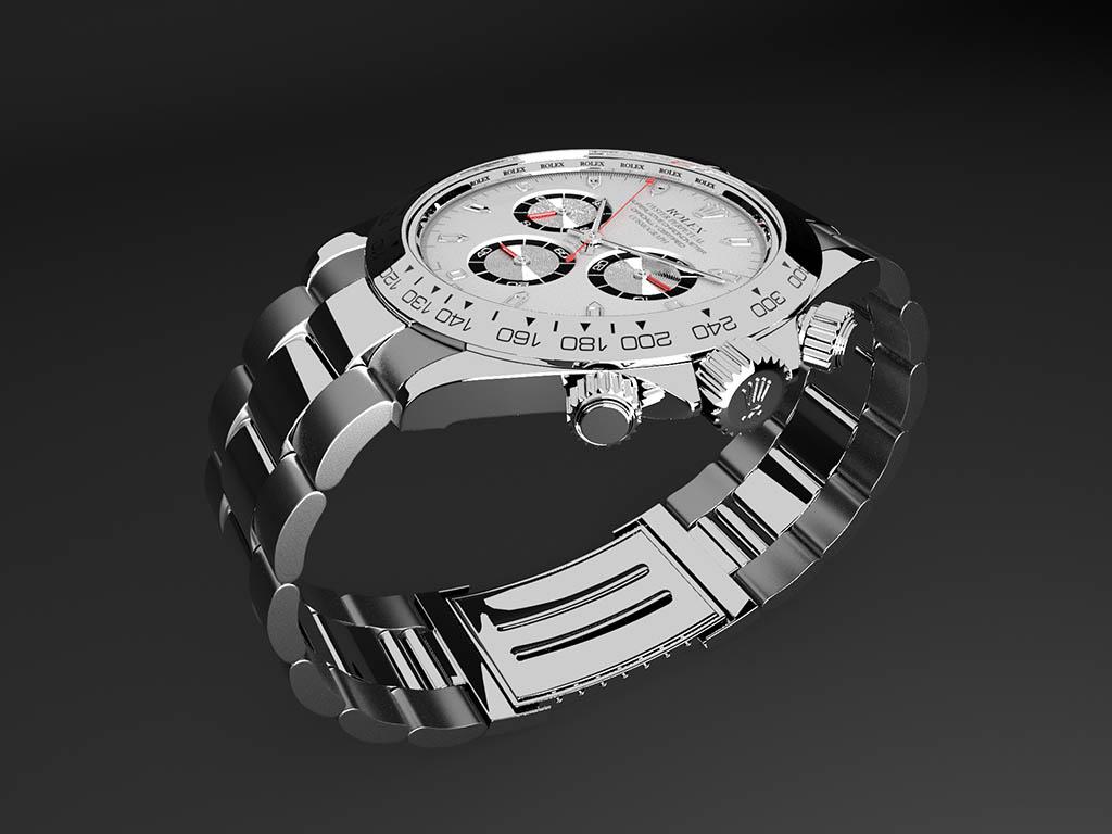 3d watch rendering
