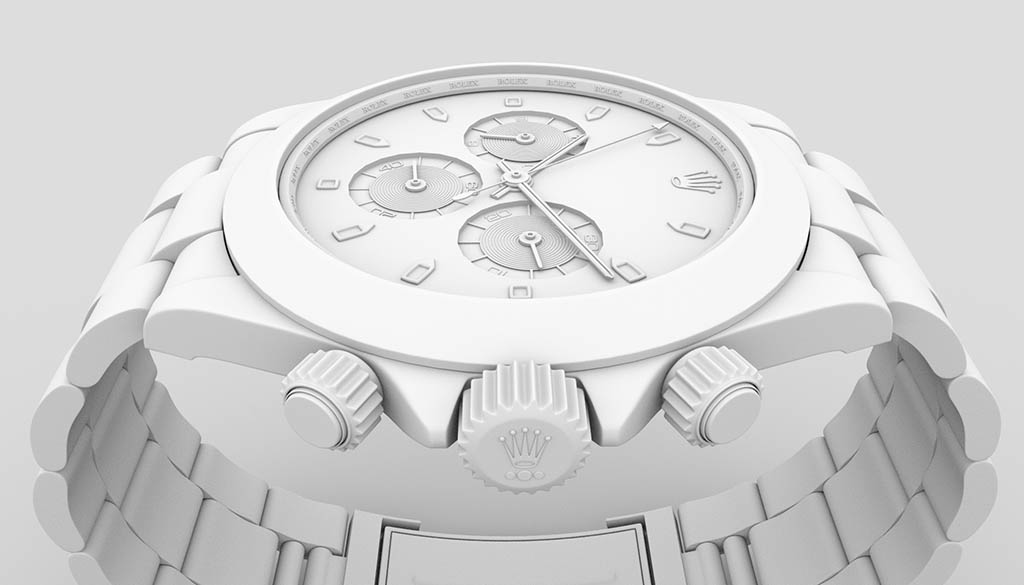 3D Watch ambient occlusion