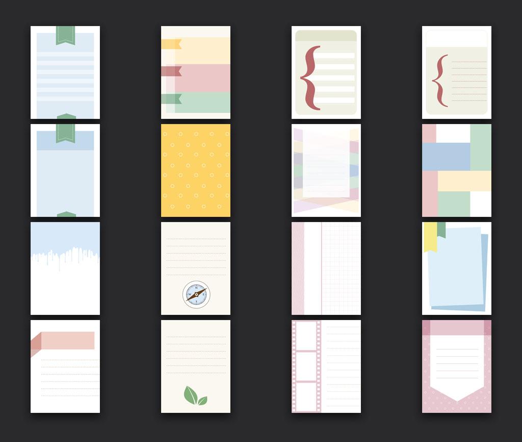 scrapbook cards vertical