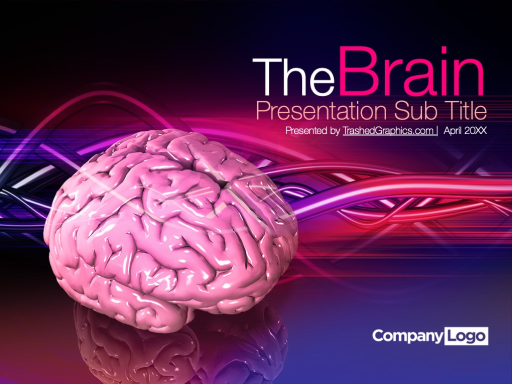 brain powerpoint template