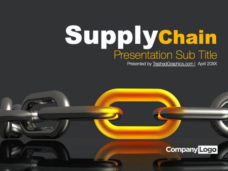 Supplier chain management PPT