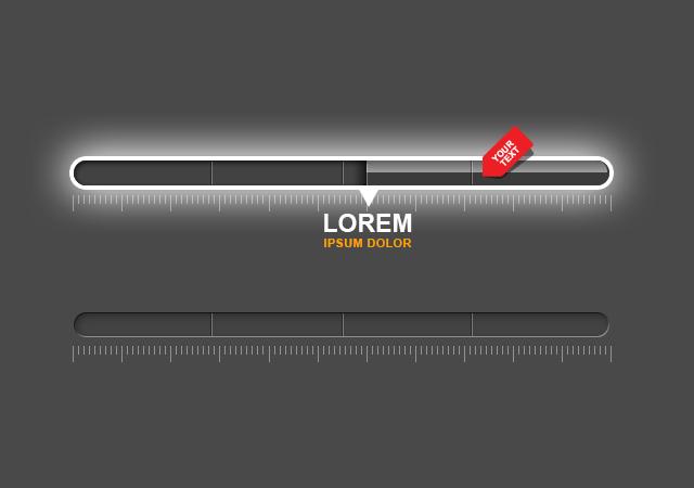 3d photoshop progress bar