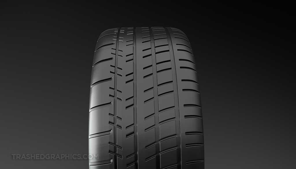 Michelin Pilot Super Sport tire tread
